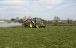 Tractor Spreading Hi-Calcium Agri Lime