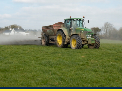 agri lie being spread to grassland