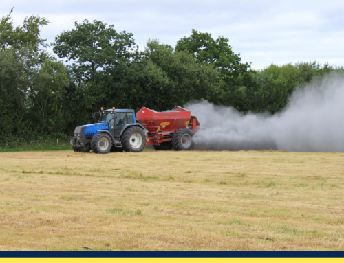 Lime spreading opportunities after silage